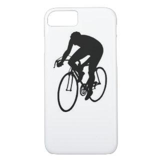 """Compitiendo con al ciclista "" Funda iPhone 7"