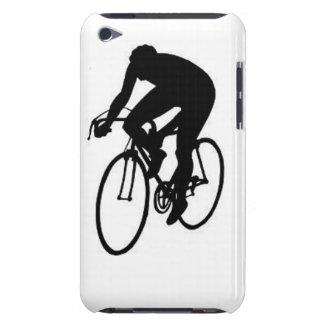 """""""Compitiendo con al ciclista """" Funda iPod"""