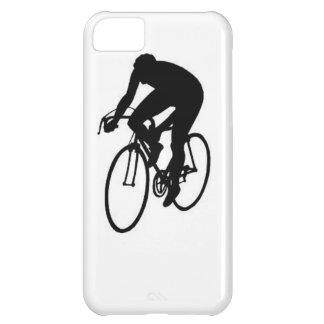 """""""Compitiendo con al ciclista """" Funda Para iPhone 5C"""
