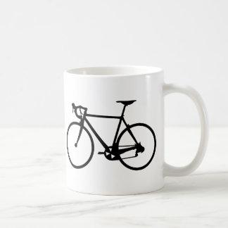 compitiendo con la bici - bicicleta del corredor taza de café