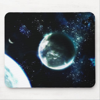 Complacent Planet Mouse Pad