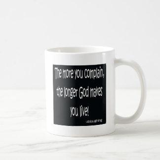 complain coffee mug