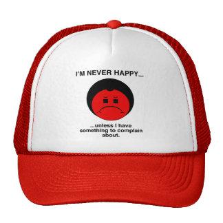 Complainer feliz gorros bordados