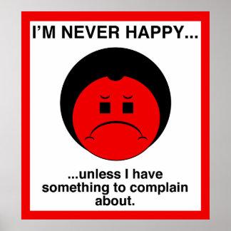 Complainer feliz impresiones