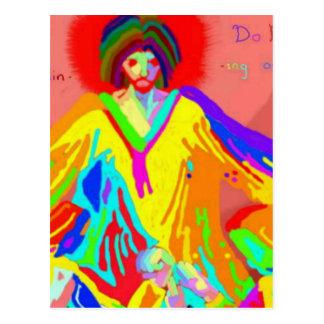 Complaint and argument, digital oil painting. postcard