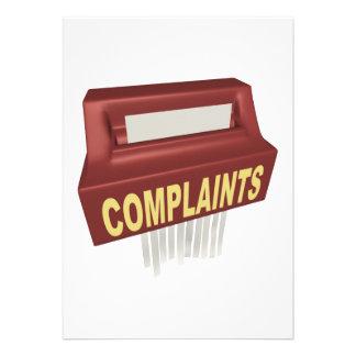 Complaint Box Announcement
