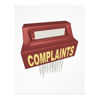 Complaint Box Flyer