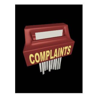 Complaint Box Postcard
