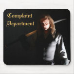 Complaint Department Executioner Mouse Pad