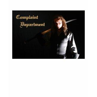 Complaint Department Executioner T-Shirt shirt