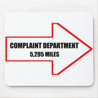 Complaint Department Mousepad
