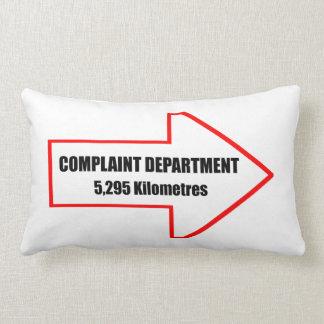 Complaint Department Pillow