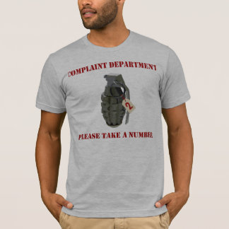 Complaint Department T-Shirt