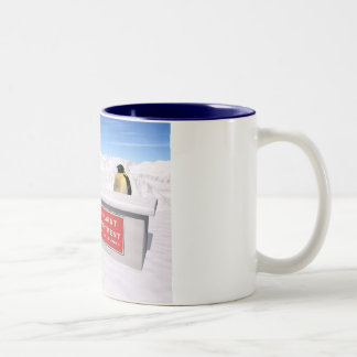 Complaint department Two-Tone coffee mug