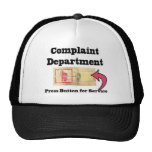 Complaints Department Trucker Hat