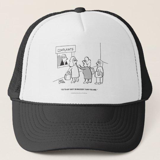 Complaints---Outta My Way! Trucker Hat