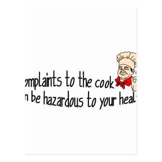 Complaints Postcard