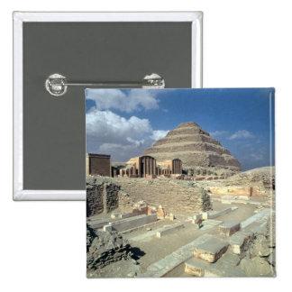 Complejo de Djoser incluyendo la pirámide del paso Pin Cuadrada 5 Cm