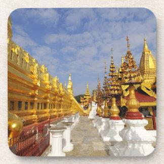 Complejo de la pagoda de Shwezigon en Bagan (Pagan Posavasos De Bebidas