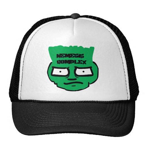 Complejo de Némesis - camiseta de la cara de la pi Gorra