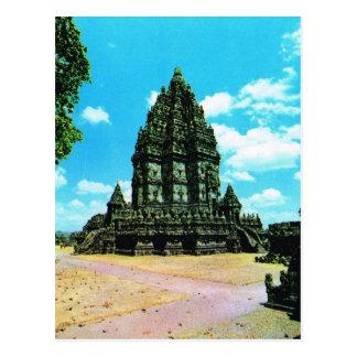 Complejo del templo de Prambanan, Java, Indonesia Tarjetas Postales
