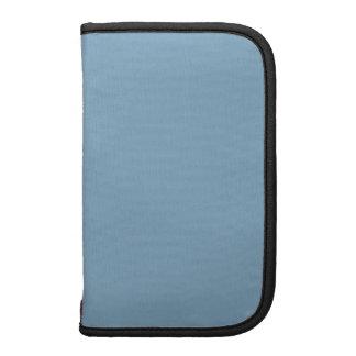 Complementación del color del negro azul de la osc planificador