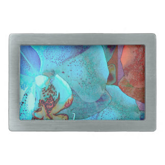 Complementary Blooms Gorgeous Color Belt Buckle