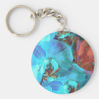 Complementary Blooms Gorgeous Color Key Chain