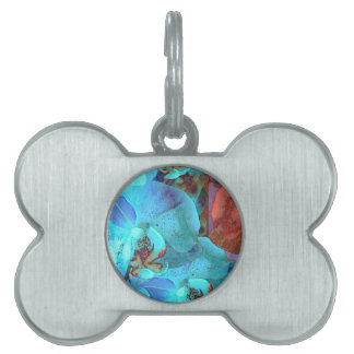 Complementary Blooms Gorgeous Color Pet Tag