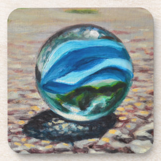 Complementary Marbles Coaster