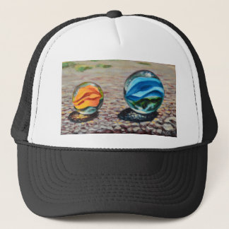 Complementary Marbles Trucker Hat