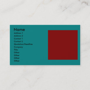 Color combinations business cards templates zazzle complementary two color combination mix business card colourmoves