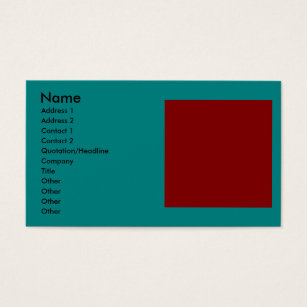 Color combinations business cards templates zazzle complementary two color combination mix business card colourmoves Choice Image