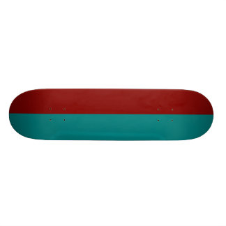 Complementary Two Color Combination / Mix Skateboard Deck