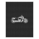 Complemento de la motocicleta 3D de Harley del car Plantilla De Membrete