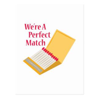 Complemento perfecto tarjeta postal