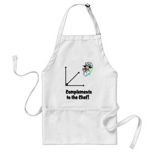 complementos al cocinero delantal