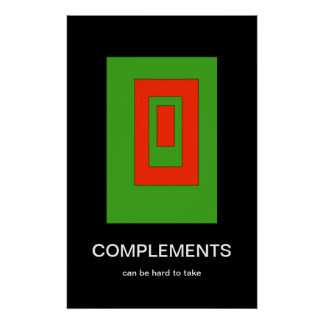 Complements Demotivational Poster