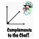 complements to chef letterhead design