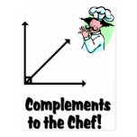 complements to chef postcard