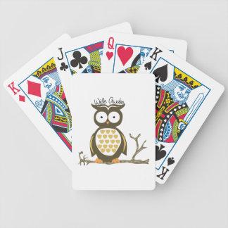 Completamente despierto baraja de cartas