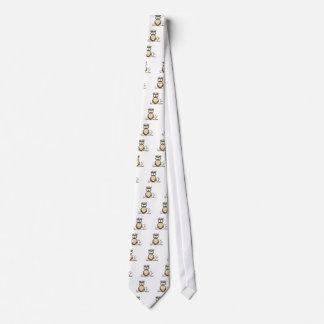 Completamente despierto corbata personalizada