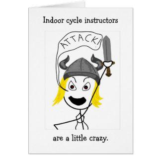 ¡Completar un ciclo-Ataque interior! tarjeta de fe