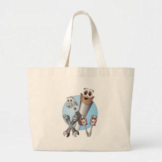 Complete Cartoon Tool Set Blue Canvas Bags