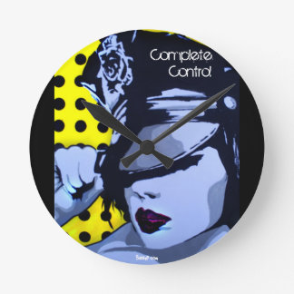 'Complete Control' Wall Clock
