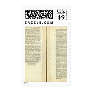 Complete Genealogical, Historical, Chronological Postage Stamp