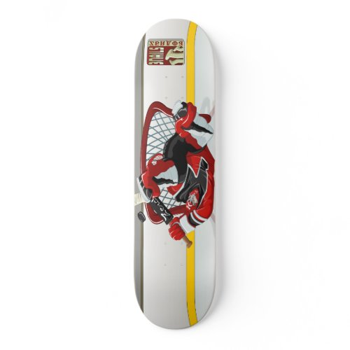 Complete Larceny skateboard