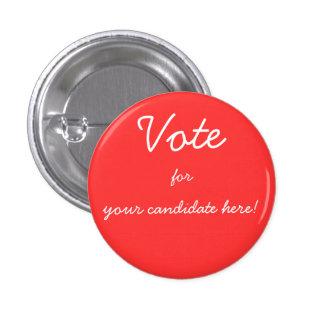 Complete los botones del candidato