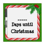 Complete los días hasta que el navidad enumere, ba pizarras blancas