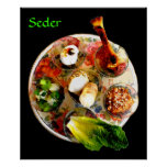 Complete Seder Plate Posters